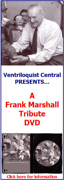 Frank Marshall Tribute DVD from Ventriloquist Central